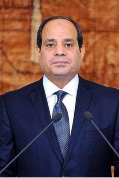 Presiden Mesir, Al-Sisi.